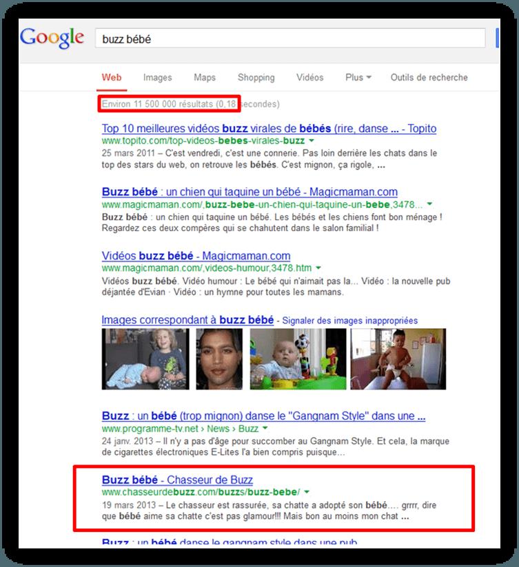 Buzz-bebe-google