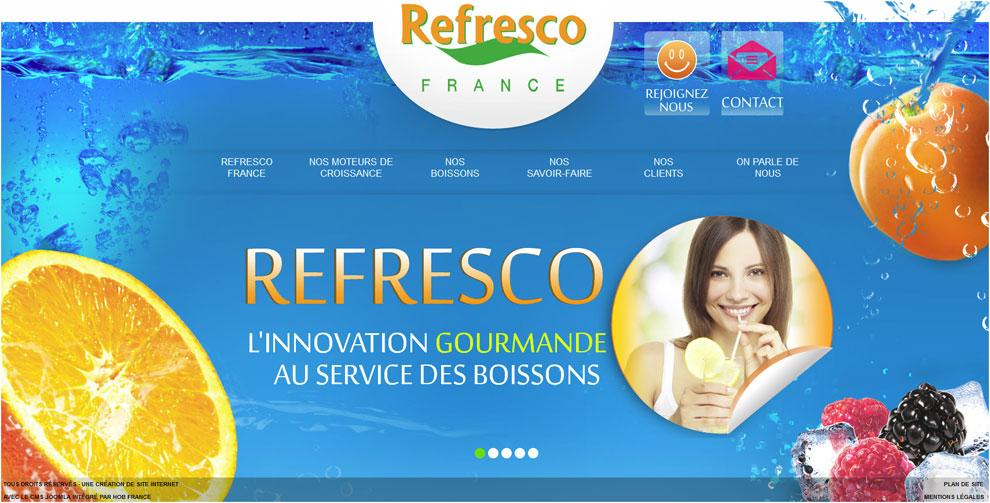 template joomla refresco